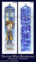 Doctor Who Bookmark - 10th by VincentChan