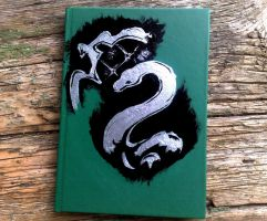 Slytherin Notebook by sisi1995