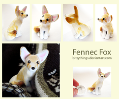 Fennec Fox -  SOLD by Bittythings