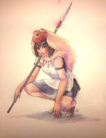 Princess Mononoke by danajayy
