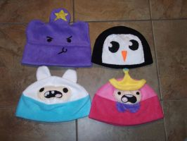 Adventure Time Hats by GoMagikarp