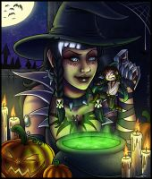 Happy Halloween 2013 by Lukael-Art