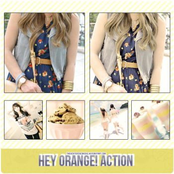 Hey orange! action by TheWinterIsComing