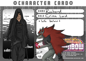 Pokemon Rainbow Character Card: Richard by Root-Sec