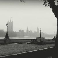August in London. by lostknightkg