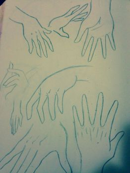 Hands  by PikachuThunderbolt4