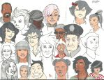 Just some faces by NeoTetsaiga