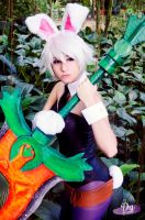 Battle Bunny Riven - Always Watching by dysama