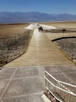 Badwater Basin's walk of Death by AthenaIce