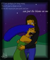 The Simpsons: Sorry, Blame It On Me by The-StarDog