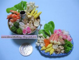 Miniature Chinese Steamboat by ilovelittlethings