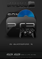 Shadow Icon: Playstation 3 by JayJaxon