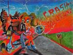 Crash to the Future. by RPM1000