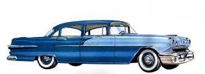 age of chrome and fins : 1957 Pontiac by Peterhoff3