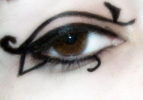 Led Zeppelin Inspired Eye Makeup by RadioactiveMarmalade