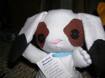 Speckles the bunny by Eliea