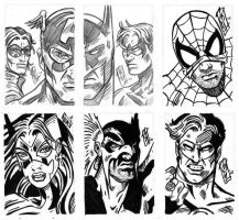 Sketchcards for cancer 2010 by valiantonov