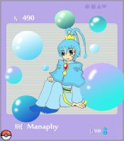 Manaphy Gijinka-Royal theme by WingsOfImagination