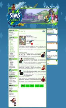 Sims Addict by danychasez