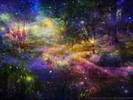 Ten thousand fireflies by naked-in-the-rain