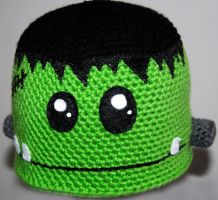 Frankenstein Beanie by rainbowdreamfactory