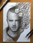Breaking Bad : Jesse Pinkman by AtomiccircuS