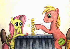 Jenga Game by TheFriendlyElephant