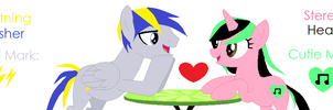 Lightning Dasher and Stereo Heart~ by DerpyLuv123
