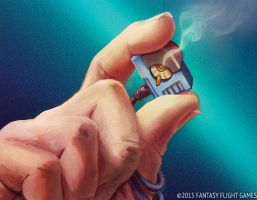 Netrunner Security Chip by LucasDurham