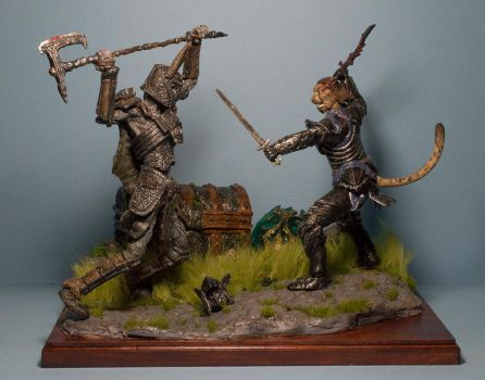 Skyrim diorama by MichaelEastwood