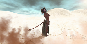 Eilthyra -Desert Rose- Tiefling - Second Life by Jace-Lethecus