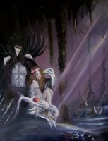 Hades and Persephone by eitherangel