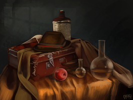 Still Life Speed Paint Challenge by daPatches