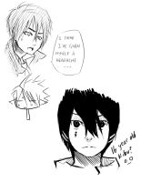 Crap Sketches with my Bamboo by Kime-baka-onee-chan