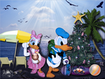 Christmas in July Wallpaper by WDWParksGal