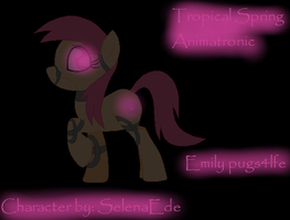 Tropical Spring Animatronic by pugs4lfe