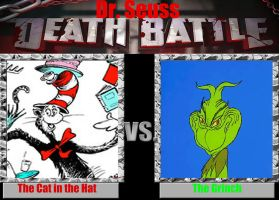 Dr. Seuss Death Battle: Cat In the Hat vs. Grinch by timbox129