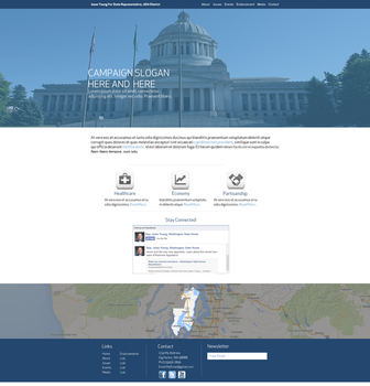 State Representative Jesse Young Website by fireproofgfx