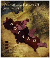 Civilization 5 Map: Poland by sukritact