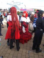 Grell and the Madam by HelloMoonPhotography