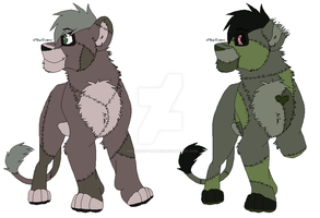 Zombie Cubs Adoption CLOSED by MikasAdoptables