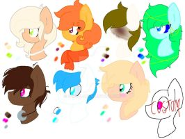 MLP Headshot adopts .:OPEN:. by S-K-Y-L-I