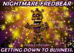 Accurate Adventure Nightmare Fredbear by fearlessgerm82