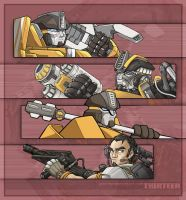 Something mecha - Thirteen II by juzo-kun