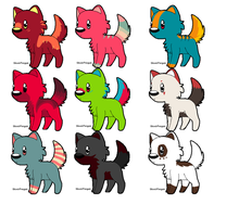 chibi adopts 4 :OPEN: by TrIps-AdOpTs