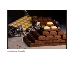 Chocolate pyramid. by GoldenBulletx