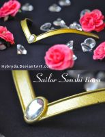 Moonlight Project - Sailor Senshi tiara by Hybryda