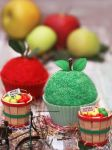Green Apples. Red Apples. Cupcakes by theresahelmer