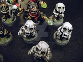Super Dungeon Explore: Undead Warband Closeup 3 by awfulgoodgames