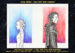 Han Solo's Children A Rey and Kylo Ren Portrait by DandyAngelicaVannini
